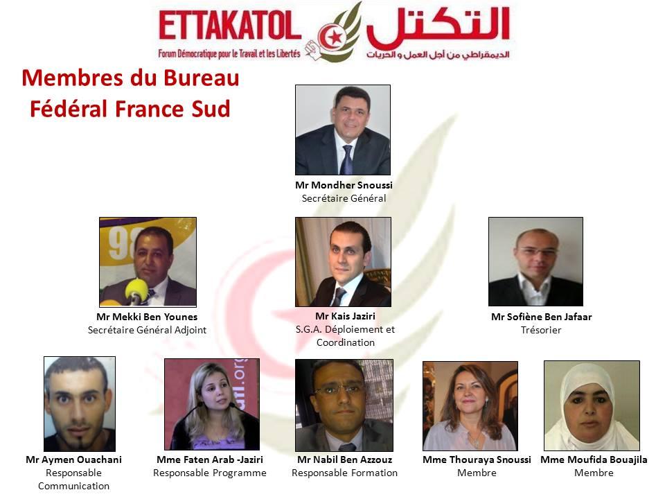 Bureau Ettakatol France Sud